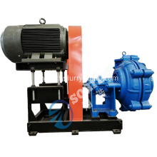 SMAHR100-D Rubber Centrifugal Slurry Pump