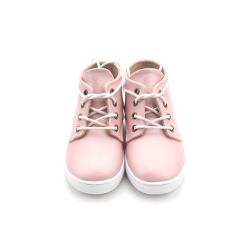 High Top Toddler Leather Baby Boot
