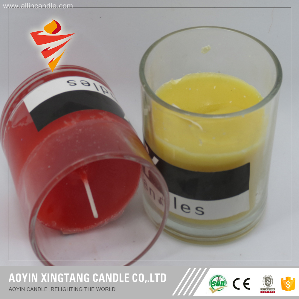 Specialized in galss jar candle for votive