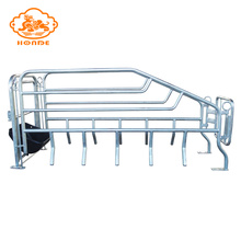 Best Quality for China Tube Farrowing Crates,Farrowing Pig Crate,Tube Fence Farrowing Crates,Adjustable Tube Farrowing Crates Supplier New design galvanized farrowing crate cage for sale supply to Finland Factory