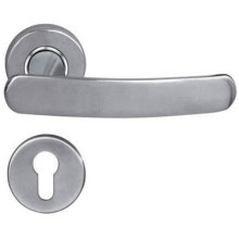 China for Casting Door Handle Polished Lever Steel Door Handle export to Portugal Wholesale
