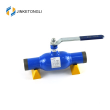 JKTL2W033 cw617n Ball Valve for District Heating Welded Ball Mechanism Lined Valves
