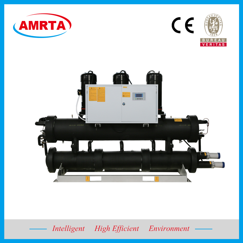 Brine Water Cooled Scroll Chiller With Heat Recovery China