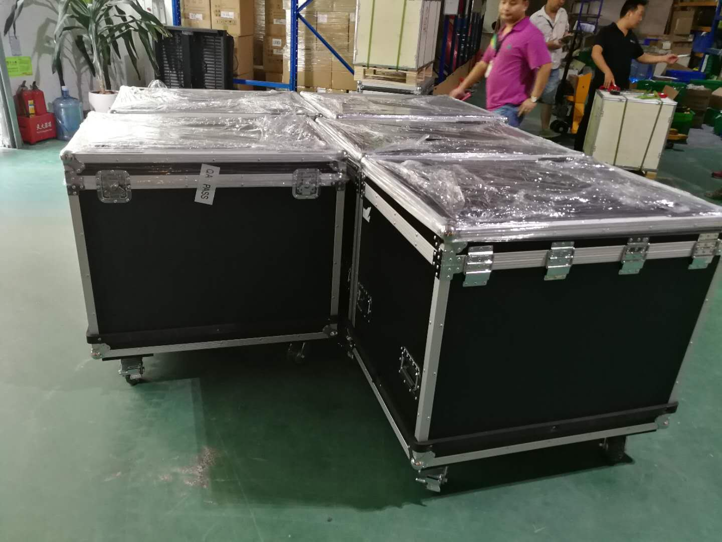 Flight case of packing for led display