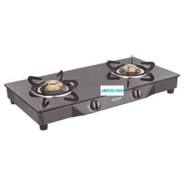 Pearl 2 Burner Toughened Glass Cooktop