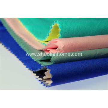 polyester cotton solid dyed  fabric