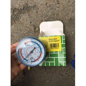 Low MOQ for for Ac Manifold Gauge Set Refrigerant high low pressure gauge with iron case supply to Zimbabwe Suppliers