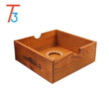 Bottom price for Customize Logo Box home decorative desk vintage style wooden storage box export to Montenegro Wholesale