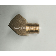 "Pressure Washer 45°Brass 1/4""FNPT * 1/4""MNPT Connector"