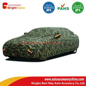 Camouflage Oxford  Custom Truck Covers