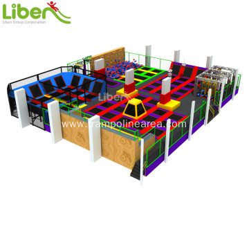 exercise indoor trampoline park price