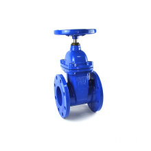high quality low price DN65 PN16 rising stem ductile iron sluice gate valve