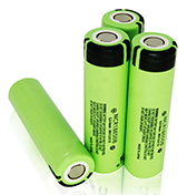 cree led flashlight battery Sanyo Battery NCR18650B
