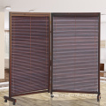 Office screen simple living room folding screen fashion mobile solid wood screen partition