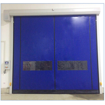 Supply for Self-Recovery Rapid Door Roll-up Industrial Recovery Clean Room Door export to Congo Importers