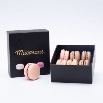 Wholesale Small Cute Cookie Biscuit Macaron Box Packaging