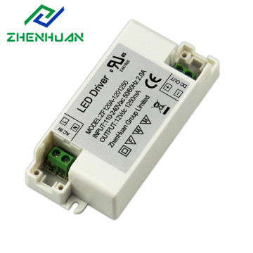 15W 12V DC 1.25A Branco LED Power Driver