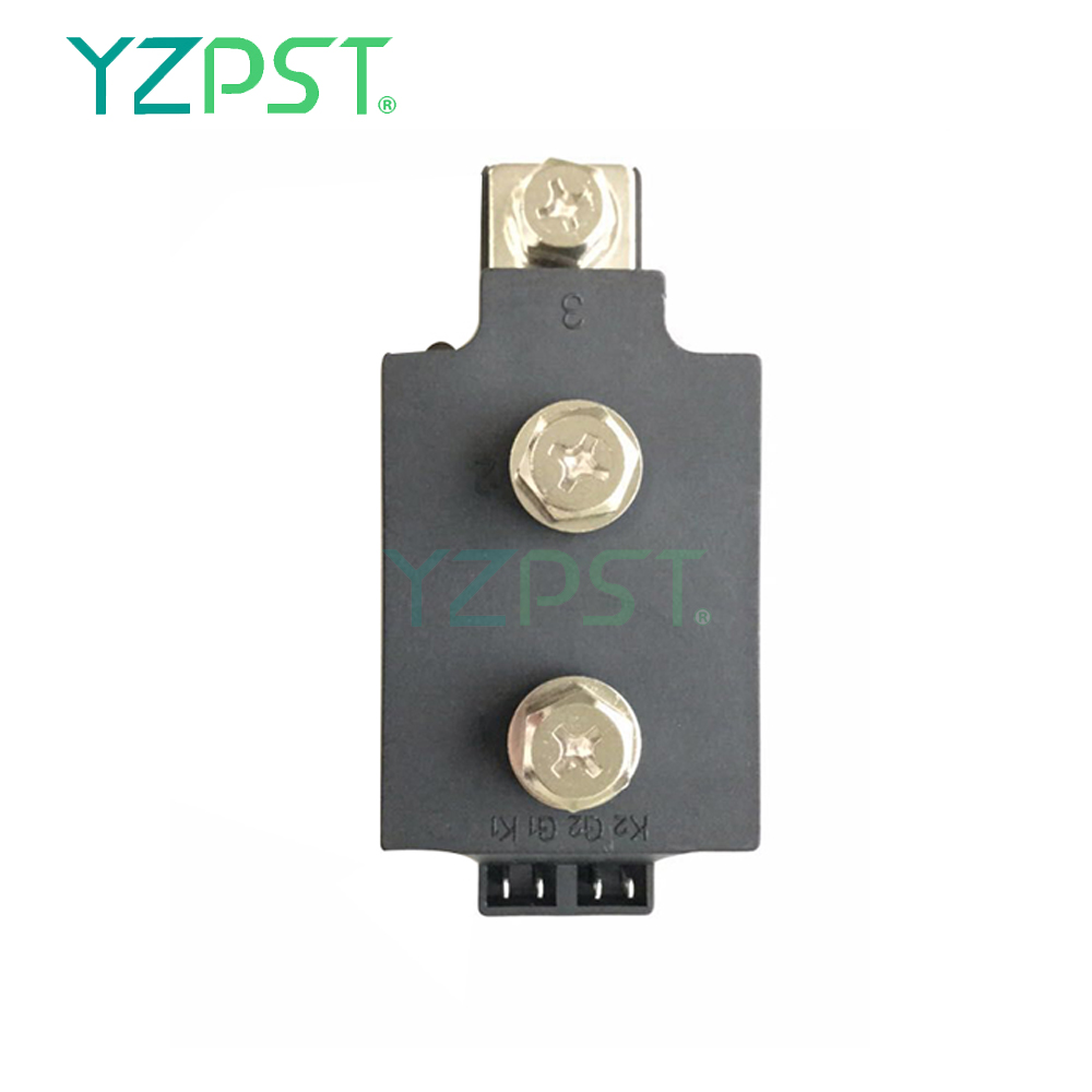 Dual Thyristor Module MTC250A1600V with amplifying gate