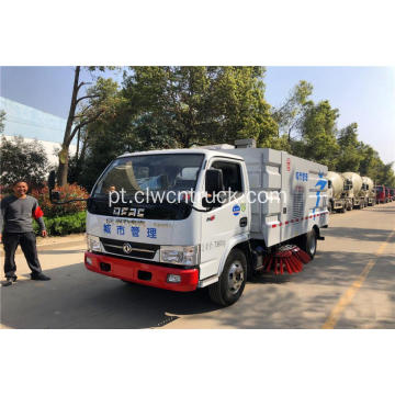 2019 New Hot Dongfeng 5cbm caminhão vassoura