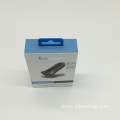 Custom Hot stamping paper electronics packaging boxes