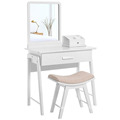 beauty dresser dresser cabinet dressing table mirror with drawer