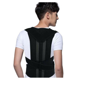 Unisex back brace posture corrector support belt