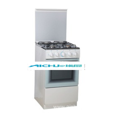 4 Burners Free Standing Gas Oven