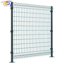 China OEM for Triangle Bending Fence 3d curved wire mesh green fencing panels garden export to French Guiana Manufacturers