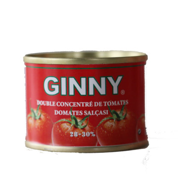 GINNY tomato paste for West Africa