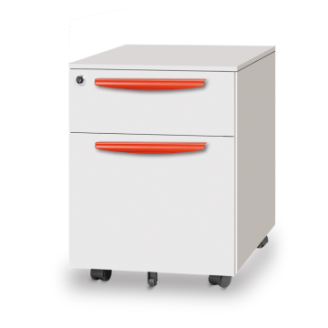 2 two drawer mobile pedestal