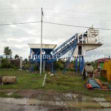 60 Mobile Concrete Batching Plant