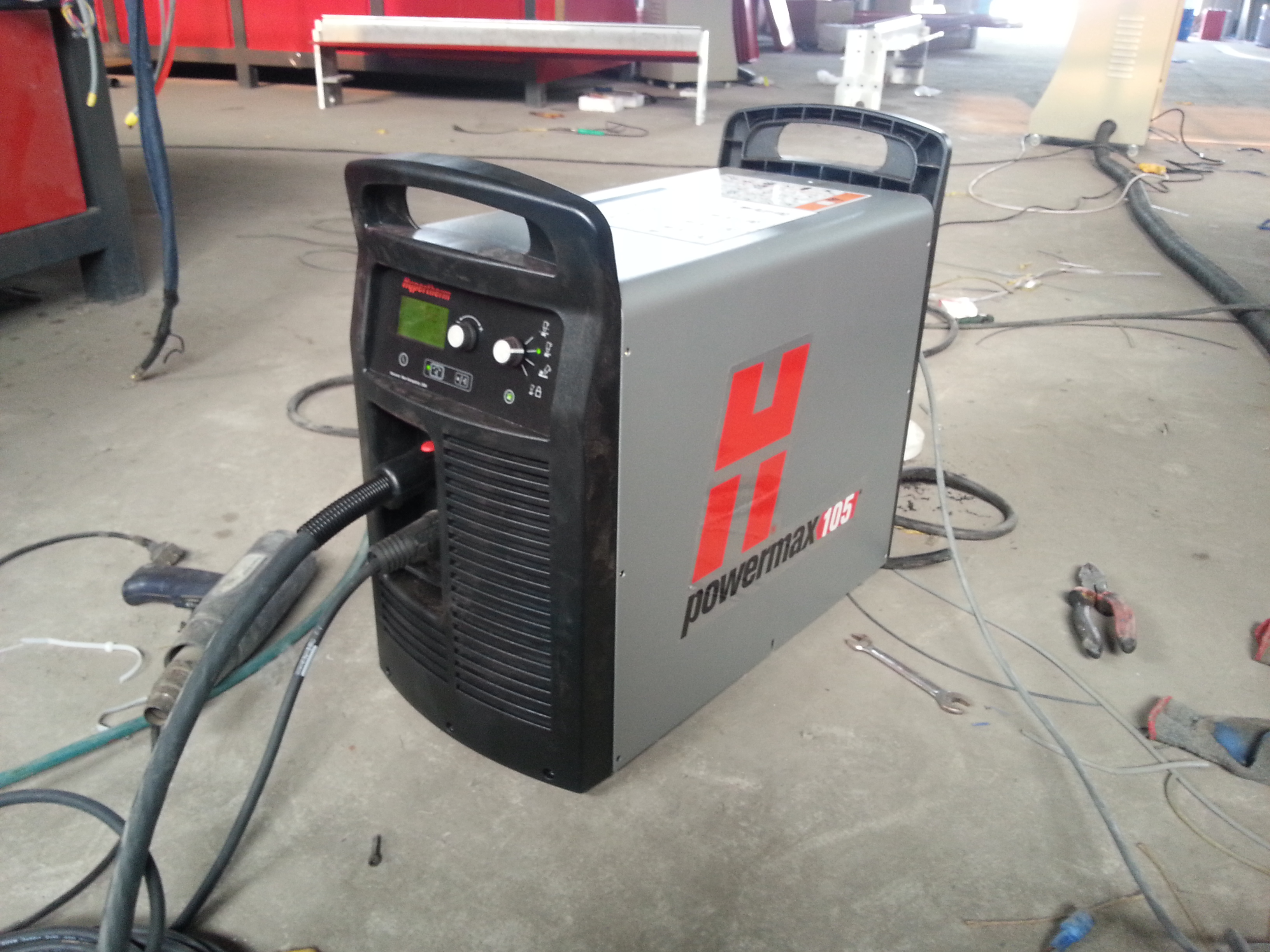 CNC Plasma Cutter With Hypertherm Power Source