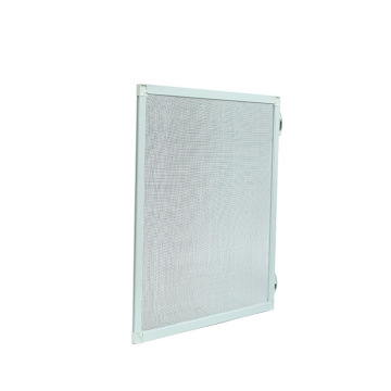 UV-resistant fire resistant fixed screen window