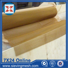 Brass Wire Weave Fabric