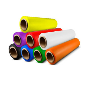 PE packing colored stretch wrap film