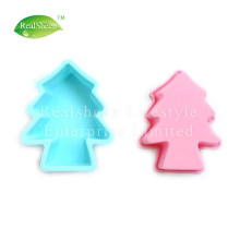 OEM for Baking Cake Mould 3D Christmas Tree Silicone Cake Mould supply to France Supplier
