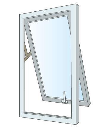 Top-Hung-Window