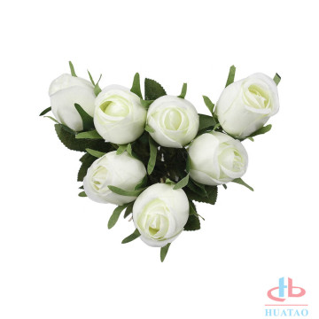 7 heads artificial flower Artificial rose flower