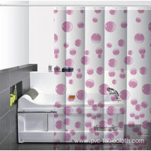 Waterproof Bathroom printed Shower Curtain Rings