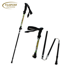 High Density 3K Grain Carbon Fiber Trekking Pole