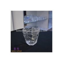 Glass Embossed Votive Cup Face