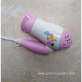 New Arrival 1200W Foldable Lovely Cartoon Children Hairdryer