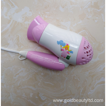 Special Design Cartoon Image Cute Children Hairdryer