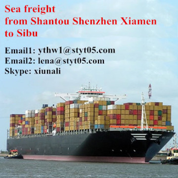 The advanced lines from Shantou to Sibu