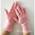 Pink Parade Gloves with Military Line