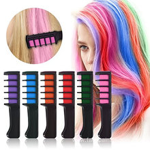 Temporary Bright Hair Chalk Set For Cosplay DIY