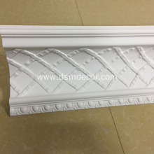 Good Quality for Crown Mouldings, Polyurethane Carved Cornice Mouldings, Cornice Corner Manufacturer in China Light weight Polyurethane Injection Cornice Mouldings supply to Germany Importers