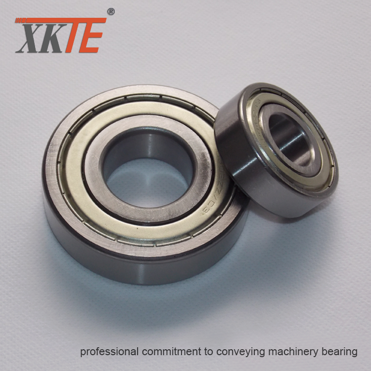 Carrying Idler Roller Bearing 6204 ZZ C3 For Power Plant