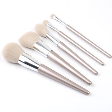 5 sätze neueste make-up pinsel set rose gold