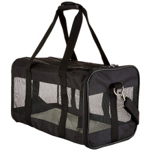 Comfortable Soft Black Carrier Pet for Travel